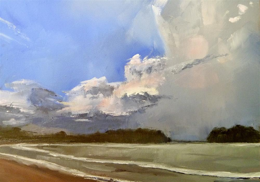 """Stormy Weather"" original fine art by Gary Bruton"