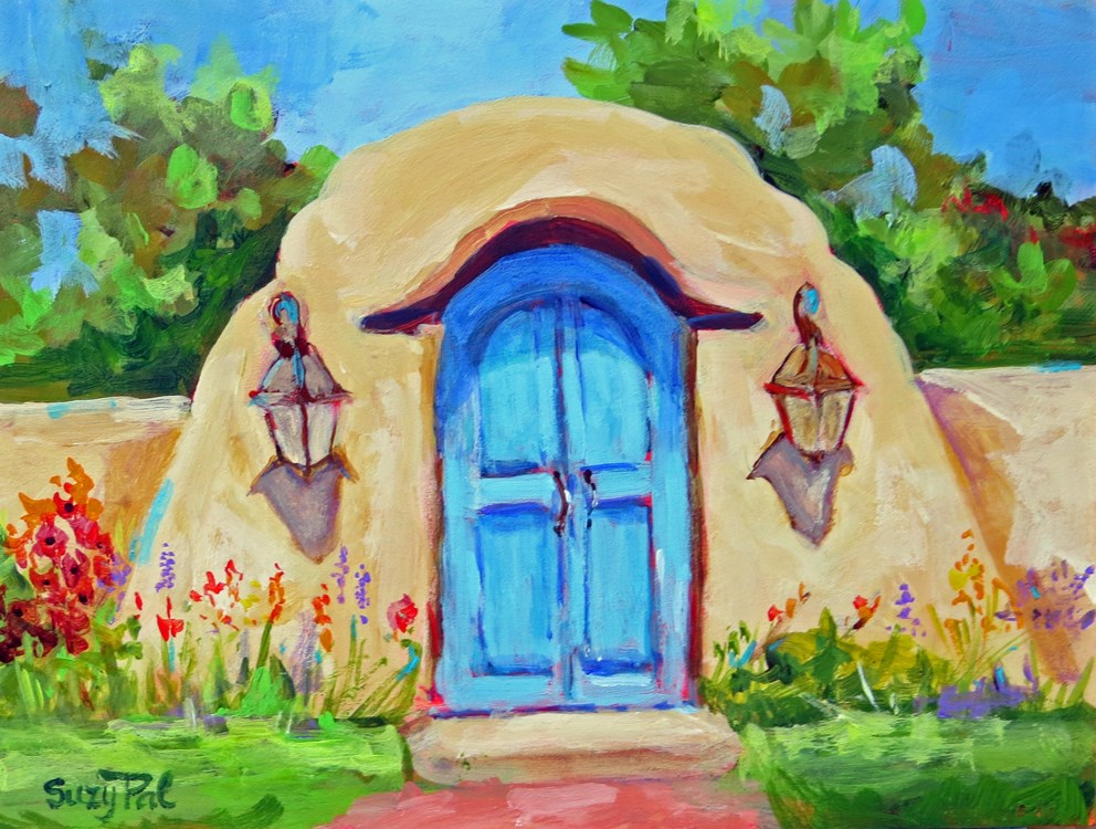 """Santa Fe #5"" original fine art by Suzy 'Pal' Powell"