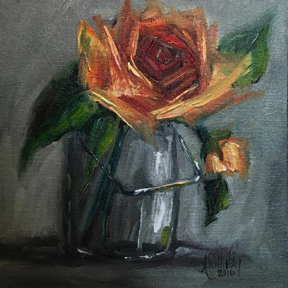 """Near A Womans Heart still life painting by Alabama Artist Angela Sullivan"" original fine art by Angela Sullivan"