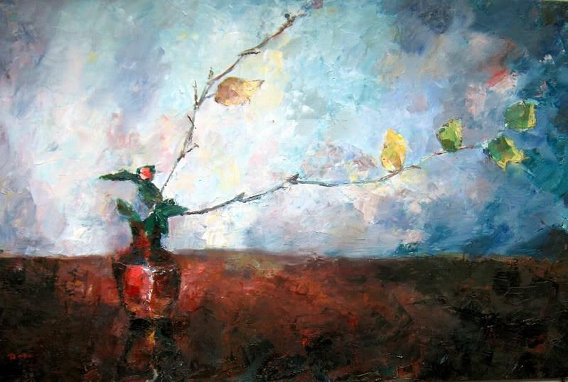 """Palette Knife Inspiration"" original fine art by Nava Judith"