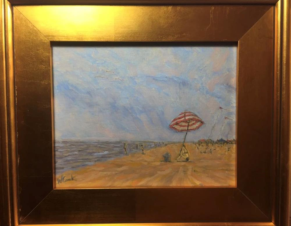 """Port Aransas"" original fine art by William Cook"