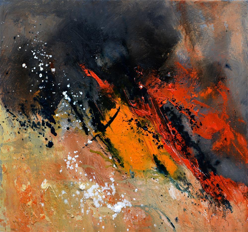 """abstract 44613062"" original fine art by Pol Ledent"