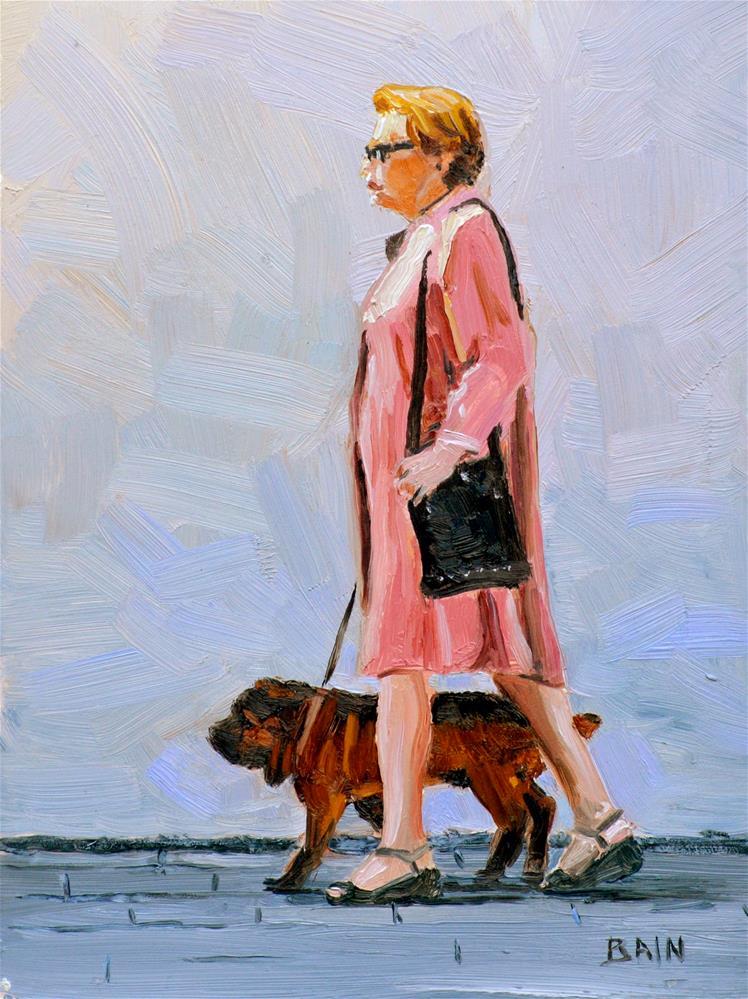 """Proper"" original fine art by Peter Bain"