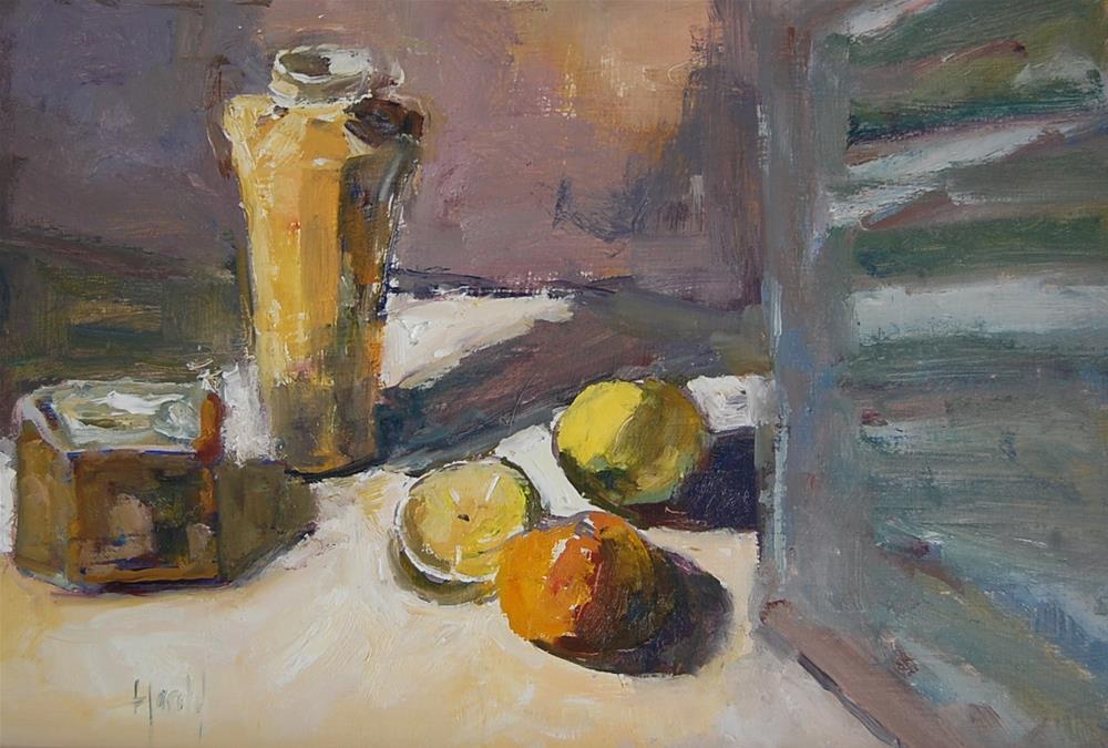 """""""Vintage"""" original fine art by Deborah Harold"""