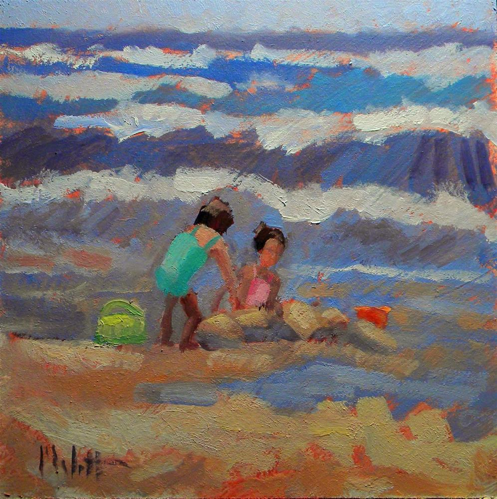 """Sisters"" original fine art by Heidi Malott"