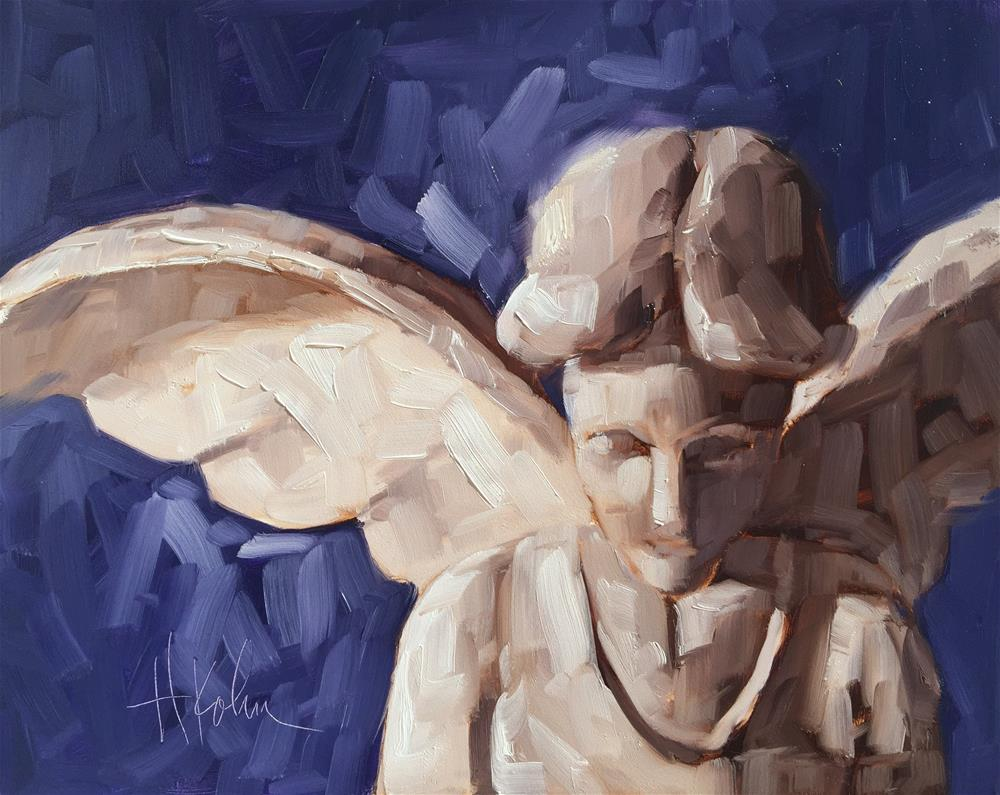 """Angel (2)"" original fine art by Hallie Kohn"
