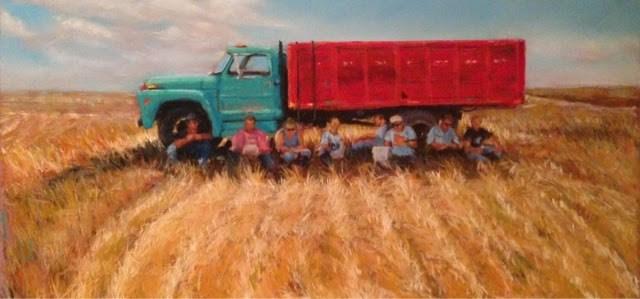 """""""A Shady Spot"""" original fine art by Cindy Gillett"""
