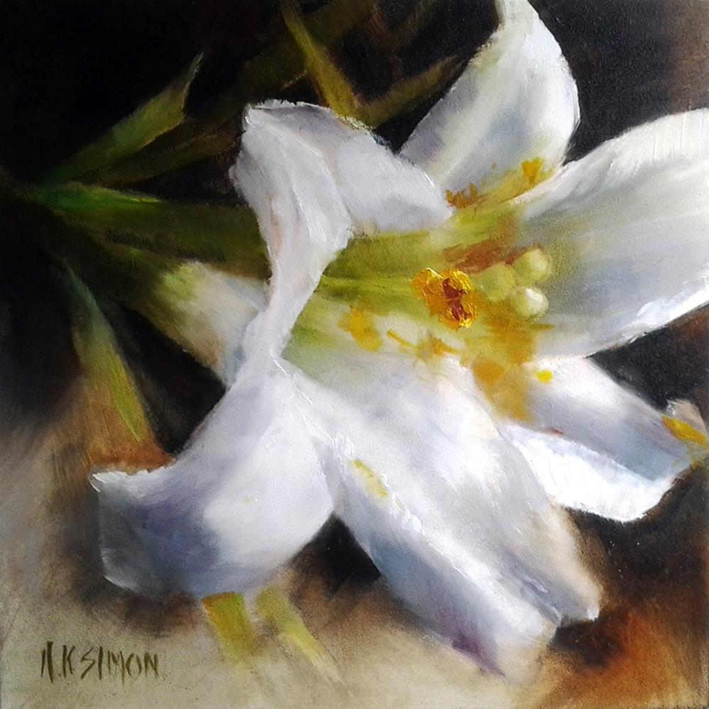 """Ungilded"" original fine art by A.K. Simon"