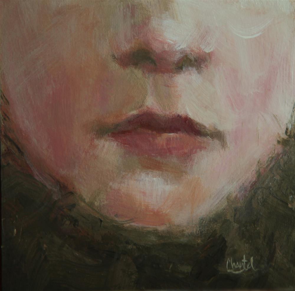 """""""Tears"""" original fine art by Chantel Barber"""