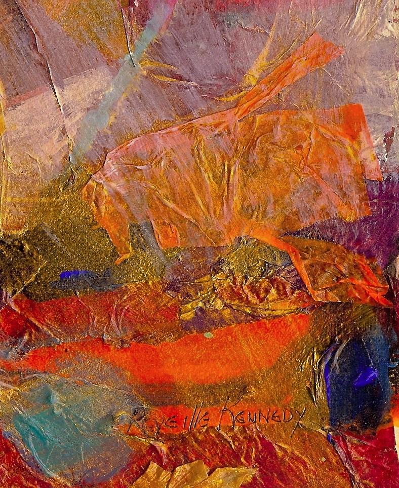 """""""Shrimp Shape"""" original fine art by Reveille Kennedy"""