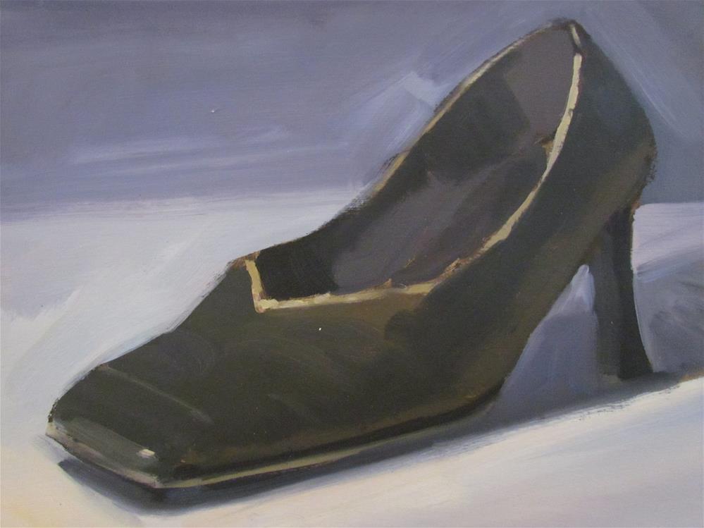 """""""noire g"""" original fine art by gilles Poulizac"""