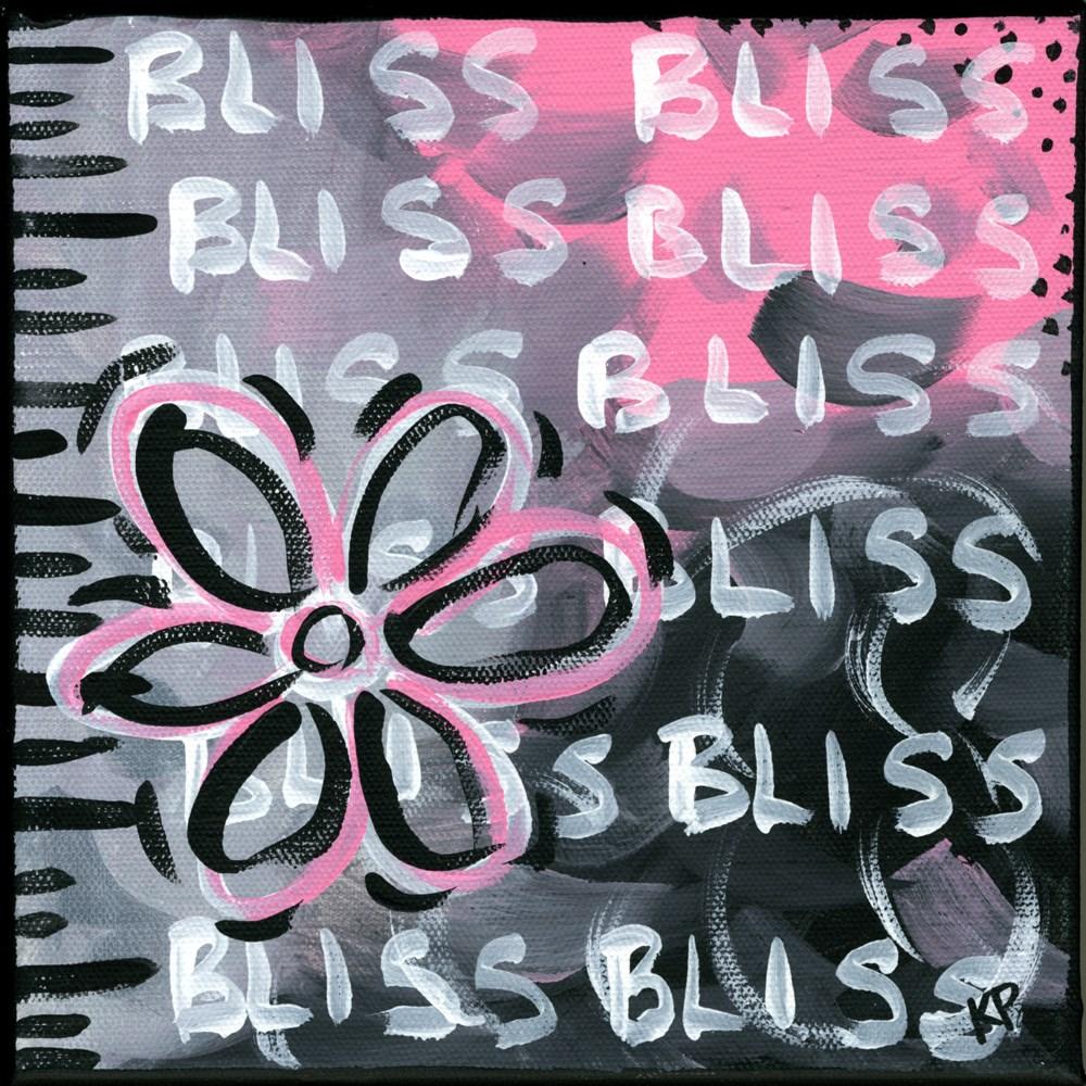 """Bliss"" original fine art by Kali Parsons"