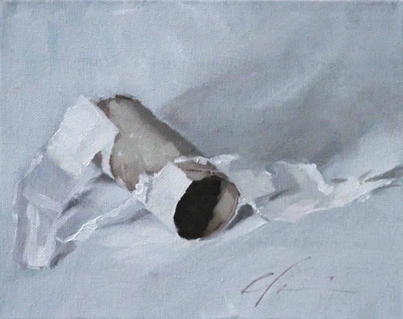 """TP"" original fine art by Clair Hartmann"