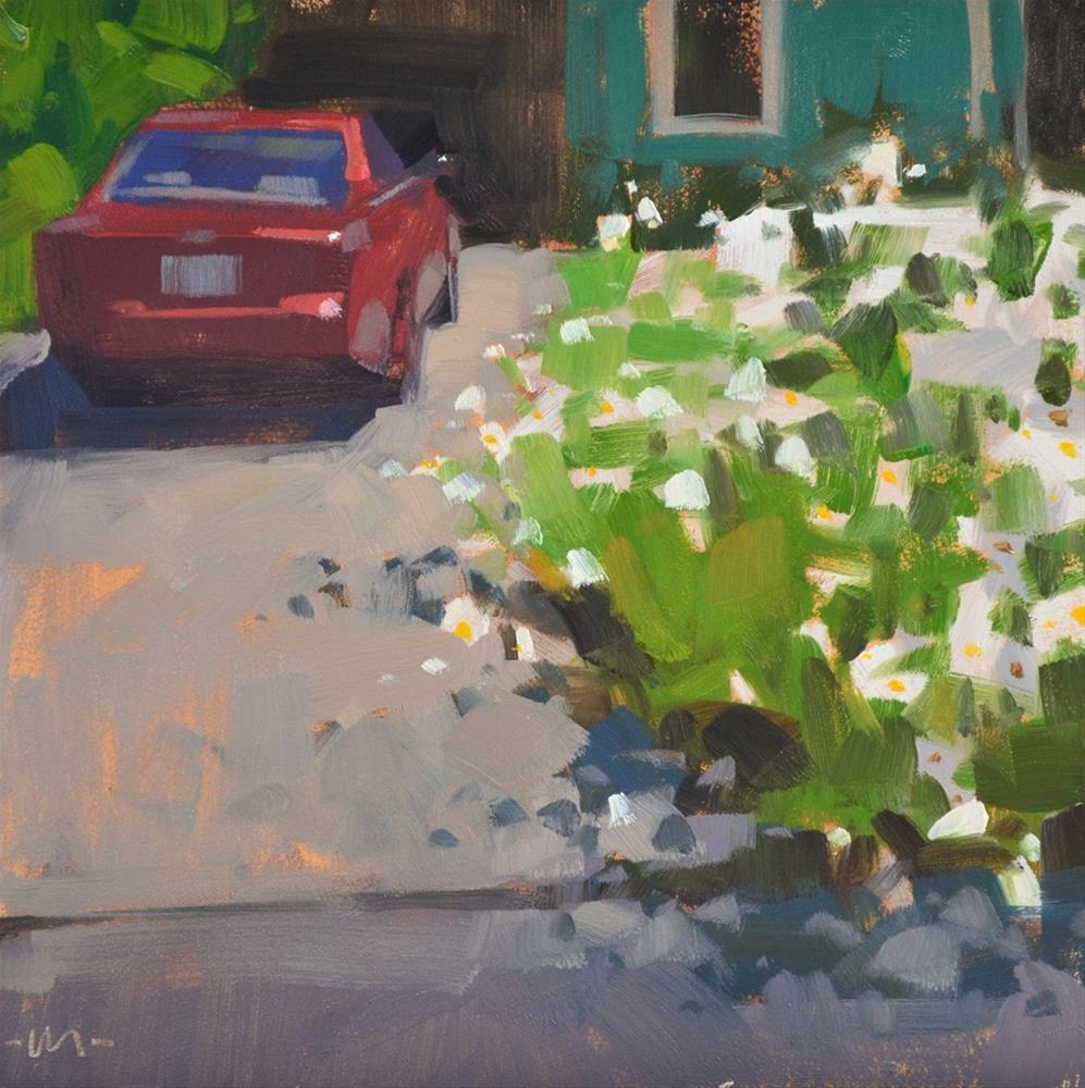 """""""Front Yard Bonanza"""" original fine art by Carol Marine"""
