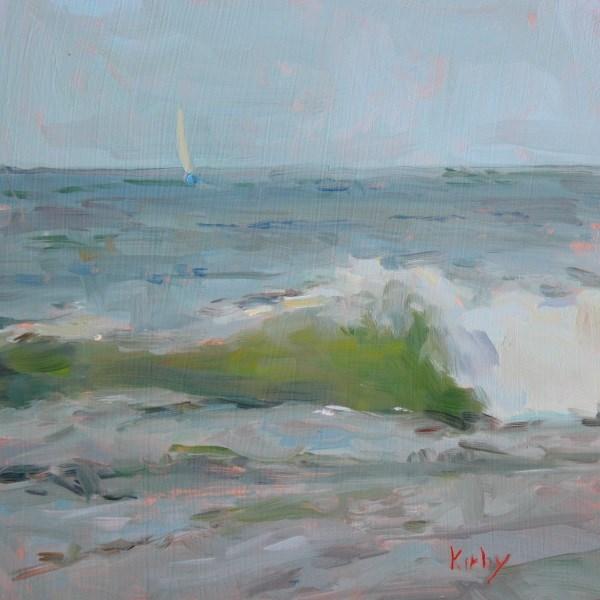 """""""Cool Breeze"""" original fine art by Randall Cogburn"""