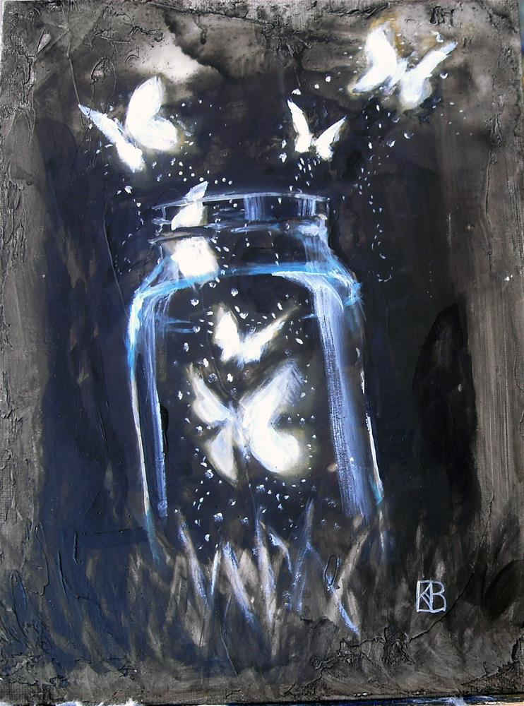 """Quart of Dreams"" original fine art by Kathleen Barnes"