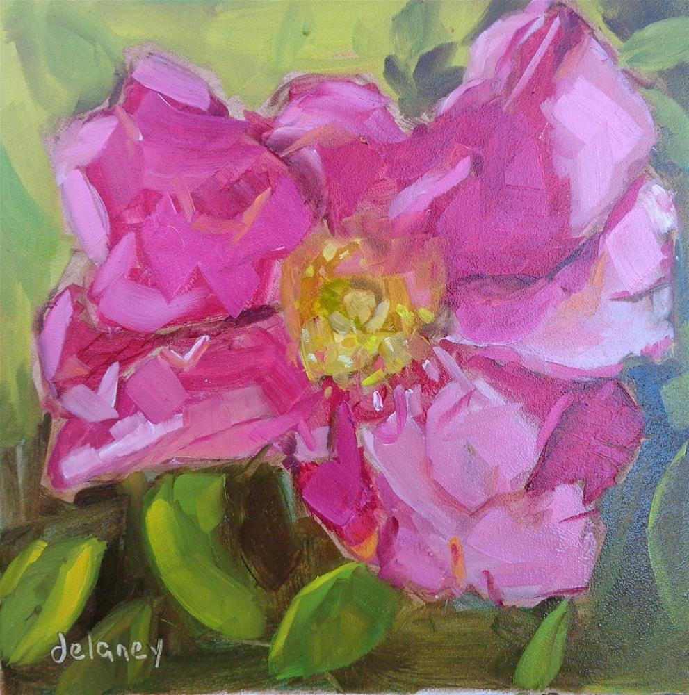 """PRETTY PETALS"" original fine art by Jean Delaney"