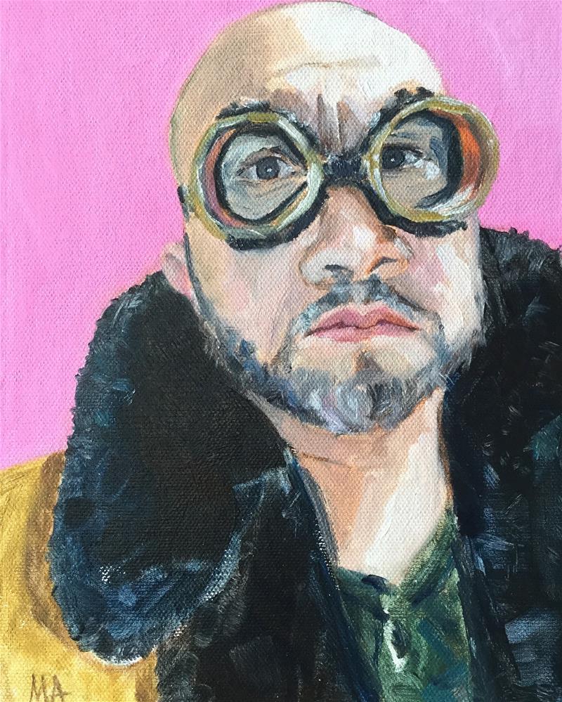 """Eric"" original fine art by Aniko Makay"