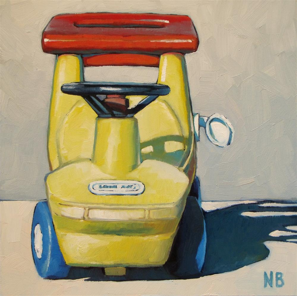 """'Fill 'er Up'"" original fine art by Nora Bergman"
