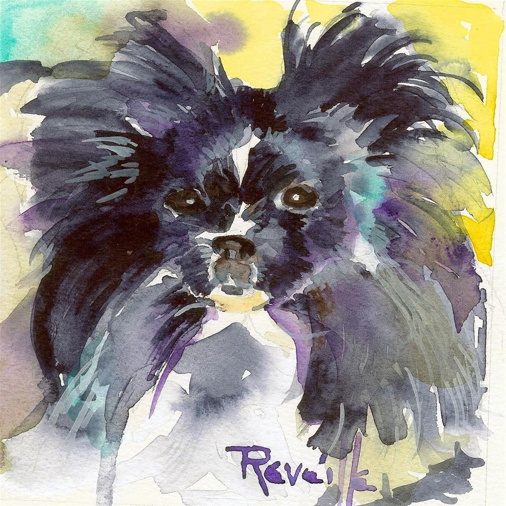 """Butterfly Ears"" original fine art by Reveille Kennedy"
