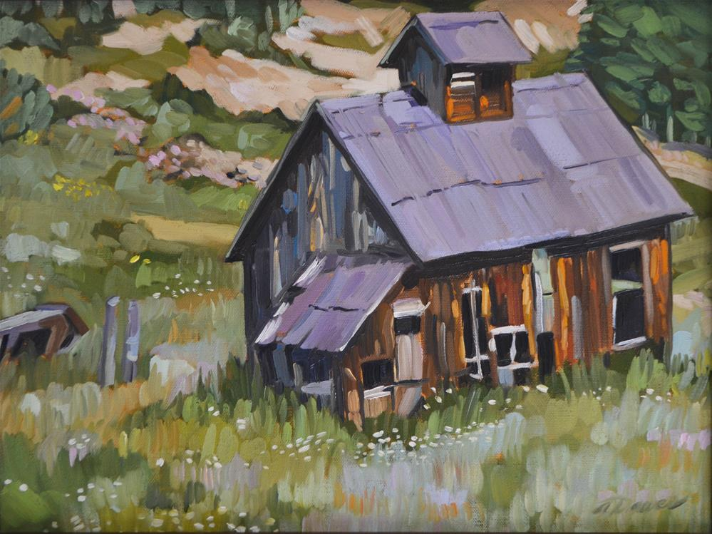 """Abandoned"" original fine art by April Dawes"
