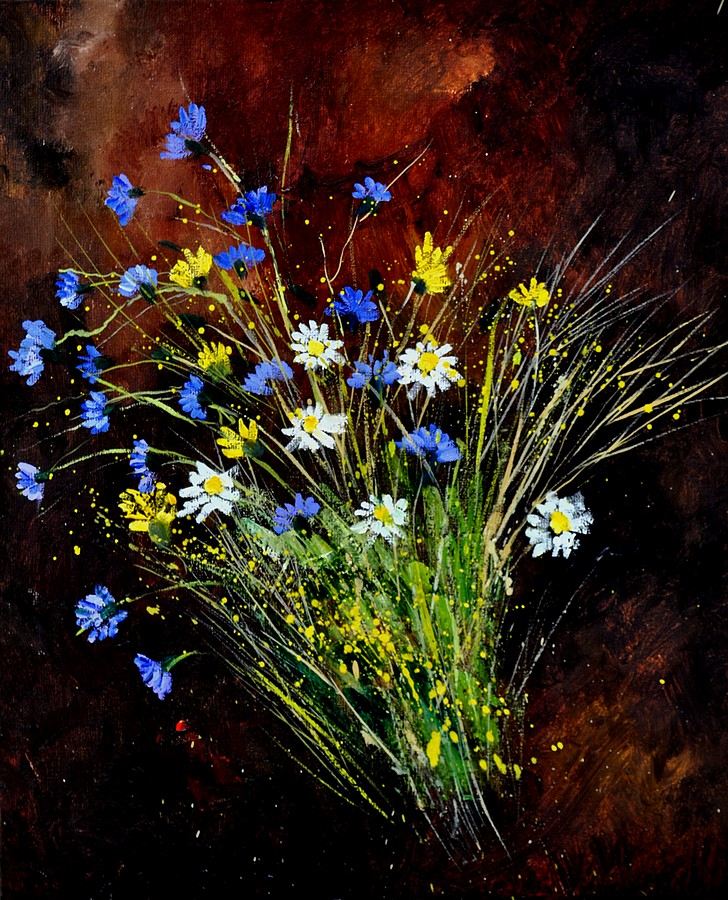 """Bunch 561160"" original fine art by Pol Ledent"