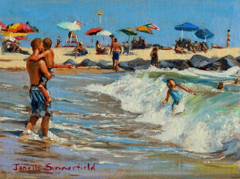 """Unexpected Wave"" original fine art by Jonelle Summerfield"