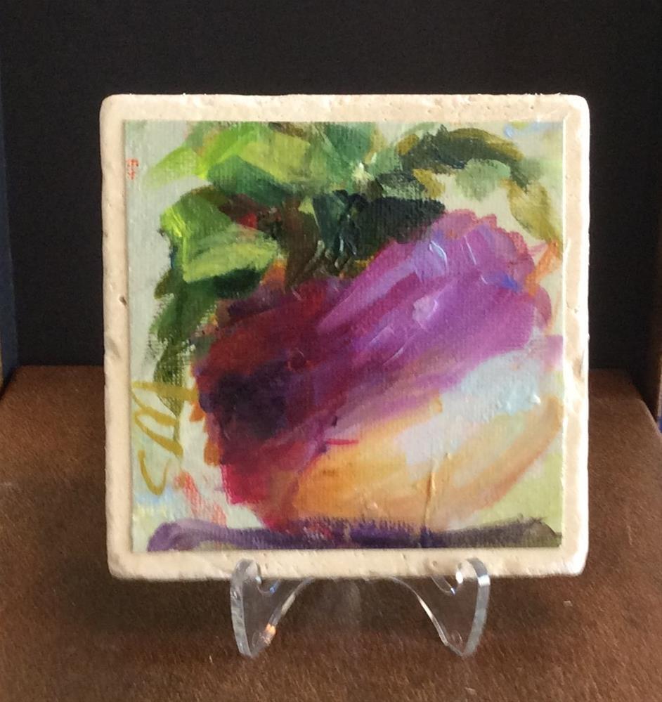 """""""Turnip"""" original fine art by Susie Monzingo"""