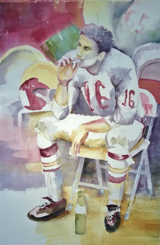 """""""Lenny"""" original fine art by Crisynda Buss"""