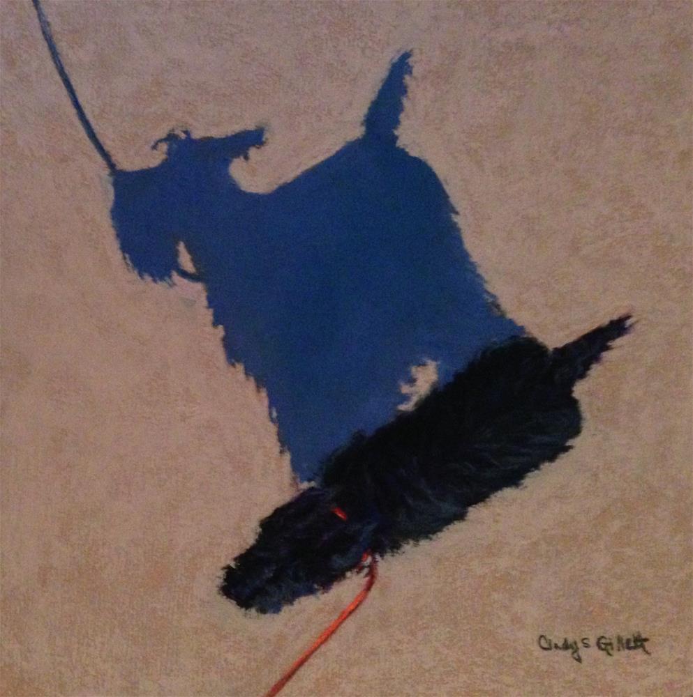 """""""Little Buddy Too"""" original fine art by Cindy Gillett"""