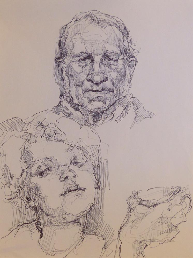 """sketchbook42"" original fine art by Katya Minkina"