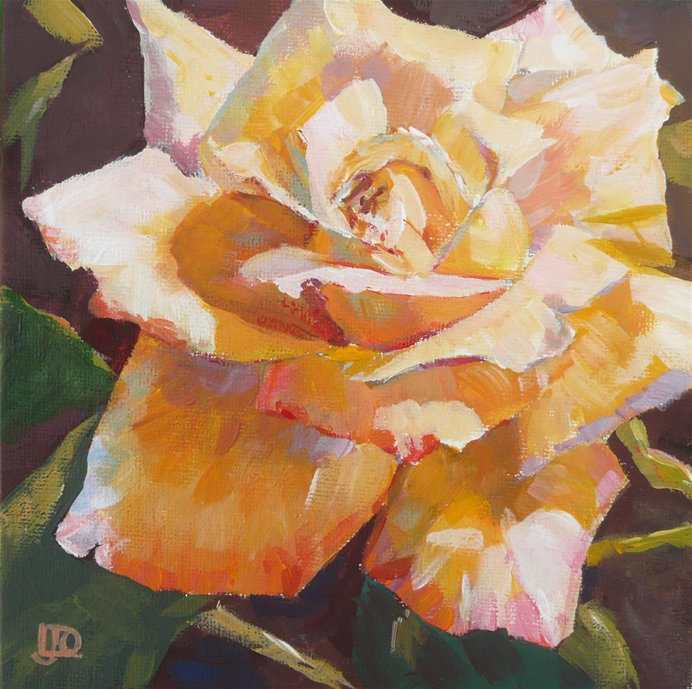"""Rose Challenge #2"" original fine art by Leanne Owen"