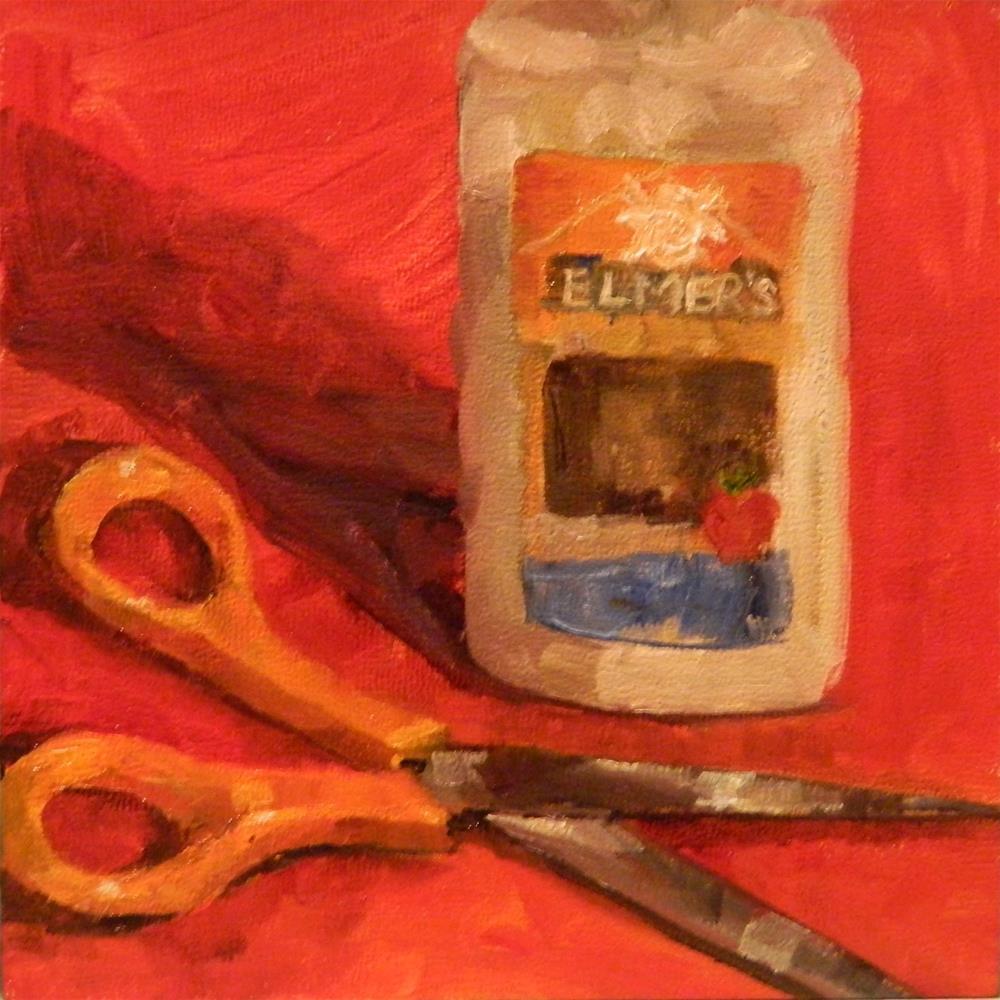 """Tools of the Trade"" original fine art by Debra Shore"