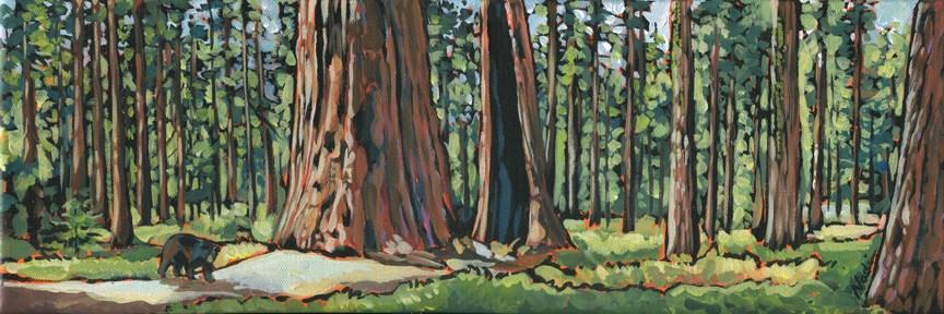 """Congress Trail"" original fine art by Nadi Spencer"
