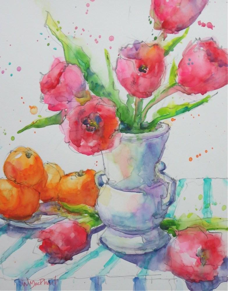 """at heart"" original fine art by Nora MacPhail"