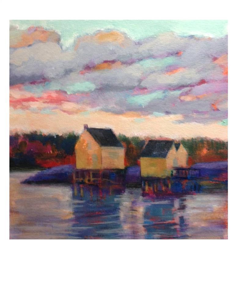 """""""Willard Beach Icons"""" original fine art by Suzanne Woodward"""
