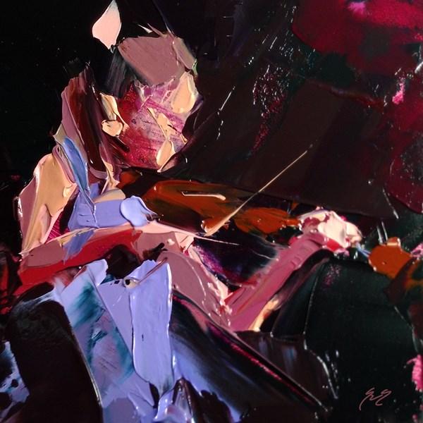 """Violin Solo by Sally Shisler"" original fine art by Sally Shisler"
