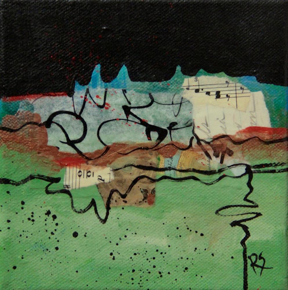 """""""Meander and Flow"""" original fine art by Roberta Schmidt"""