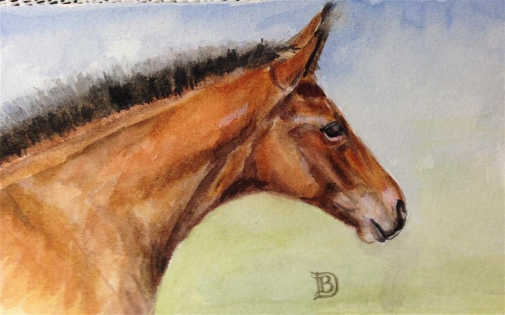 """""""#25"""" original fine art by Bobbie Deuell"""