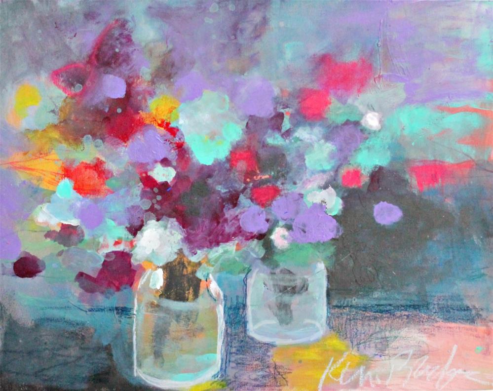 """Flowers from my Garden"" original fine art by Kerri Blackman"