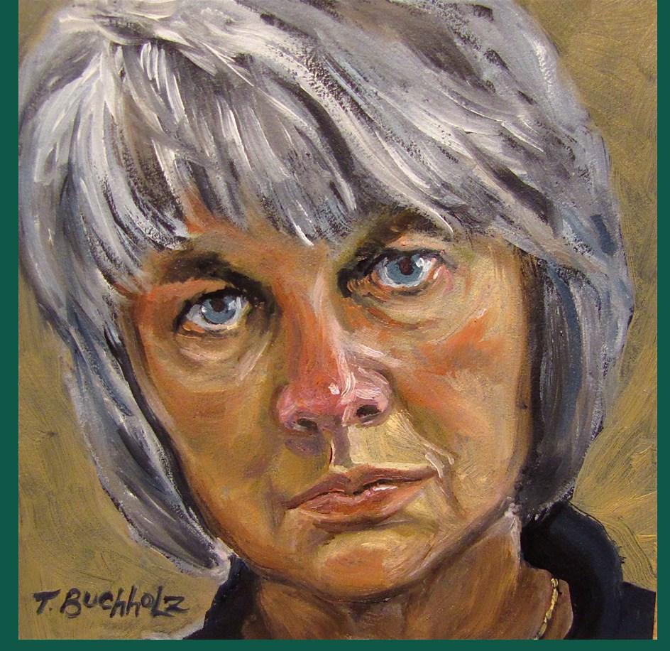 """Betsy"" original fine art by Terri Buchholz"