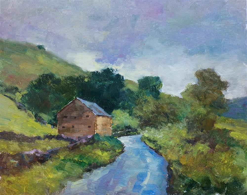 """Travelling Through The Dales"" original fine art by John Shave"