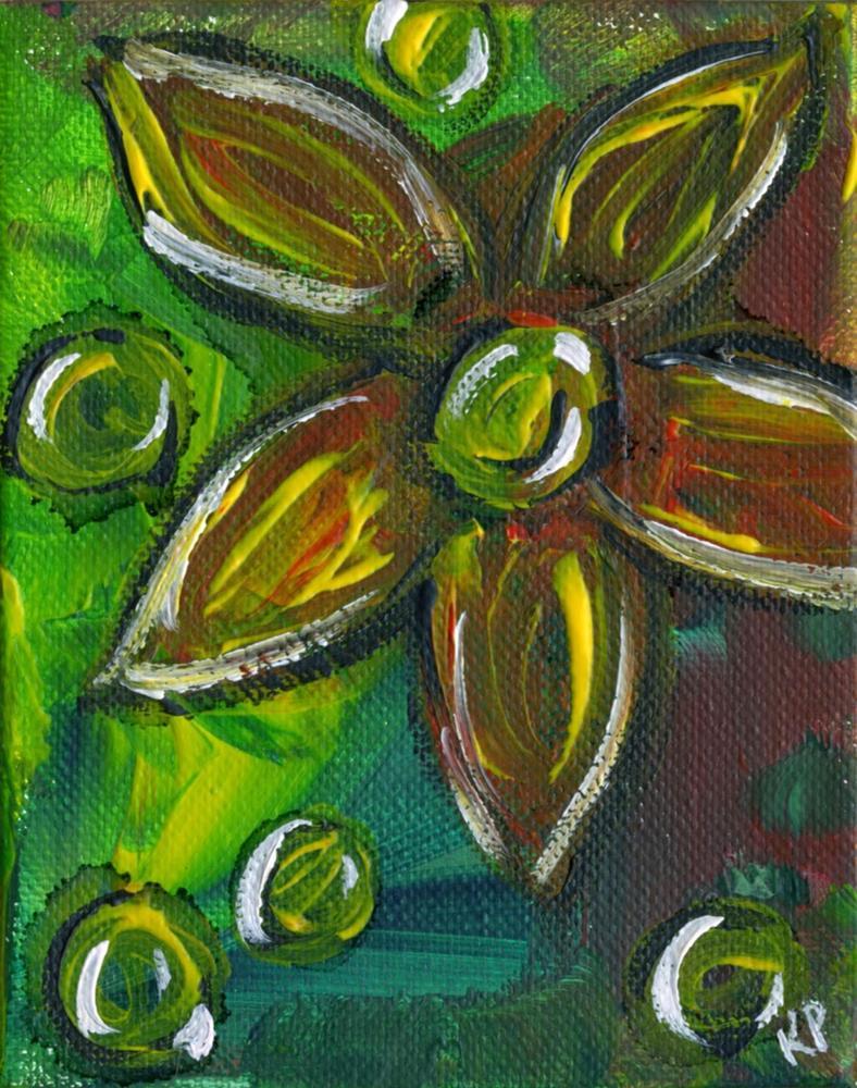 """One with Bubbles"" original fine art by Kali Parsons"