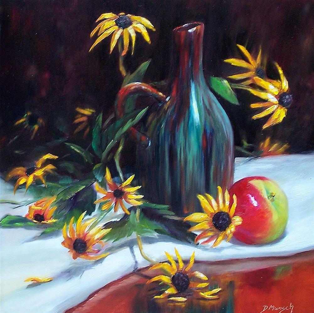 """Glazed Vase"" original fine art by Donna Munsch"