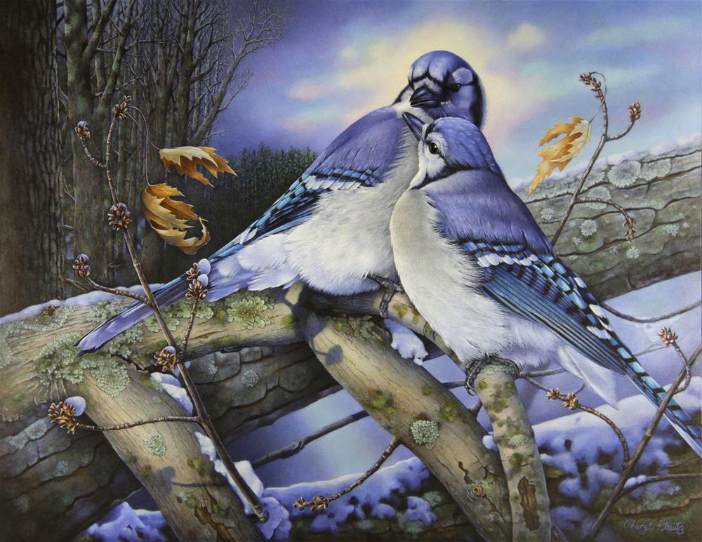 """Majestic Presence"" original fine art by Cheryl Plautz"