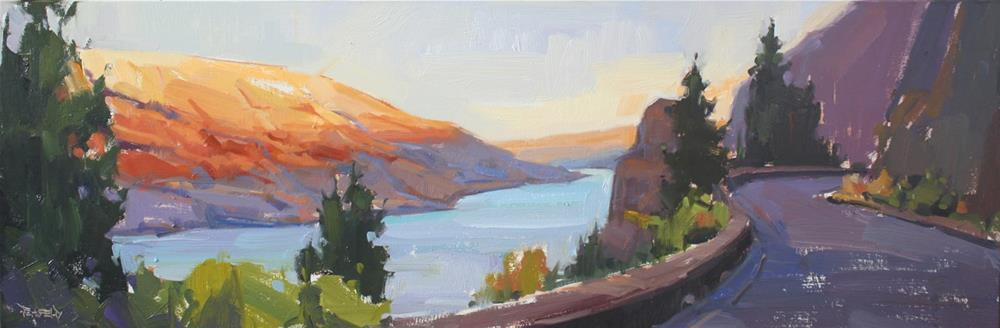 """Mosier Tunnels Trail"" original fine art by Cathleen Rehfeld"