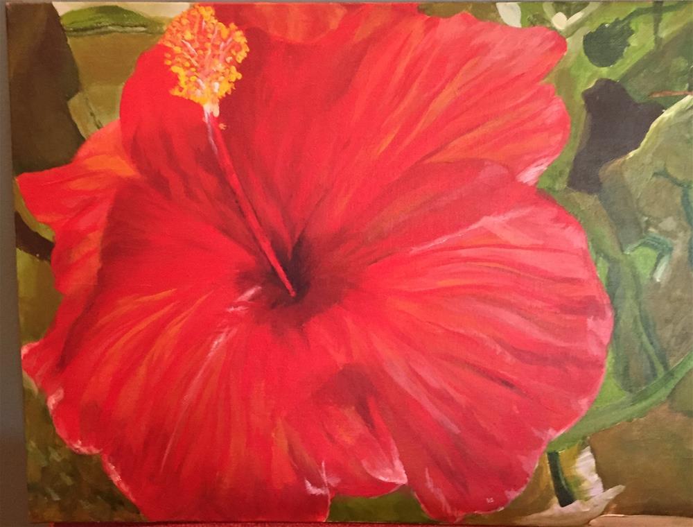 """Flower Power"" original fine art by cheryl buhrman"