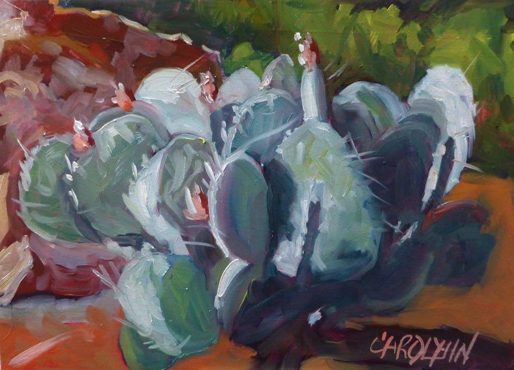 """Desert Gems"" original fine art by Carolynn Doan"