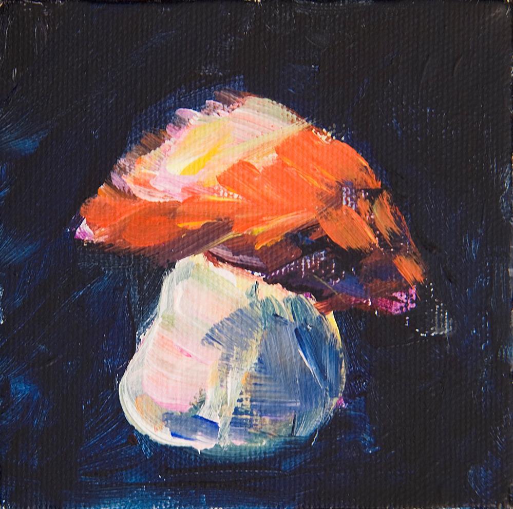 """Friar"" original fine art by Yulia Kazansky"