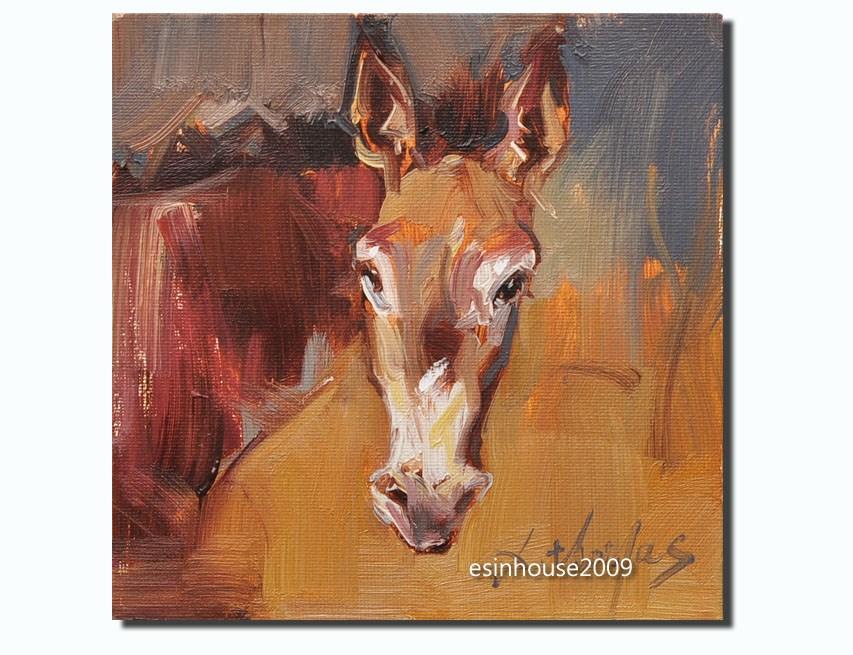 """""""donkey"""" original fine art by Thomas Xie"""